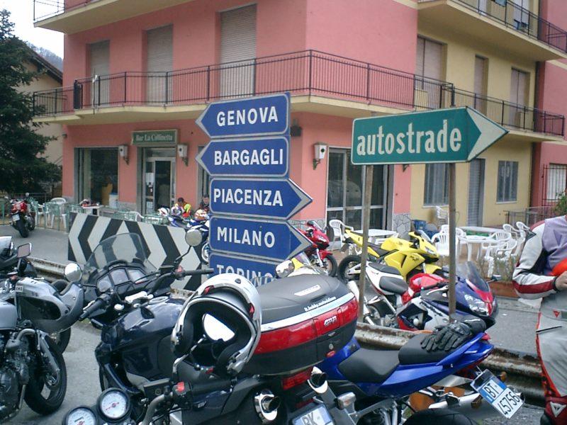Domenica 13 aprile, Moto amici in Liguria